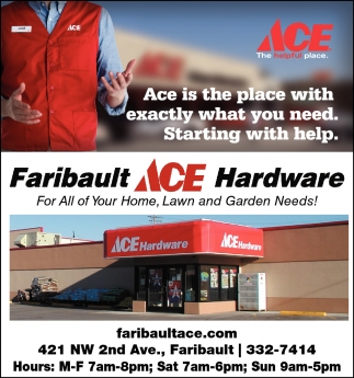 Ace is the place with exactly what you need.