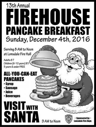 Firehouse Pancake Breakfast