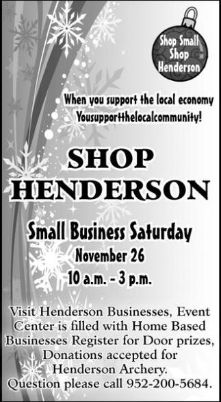 Shop Henderson