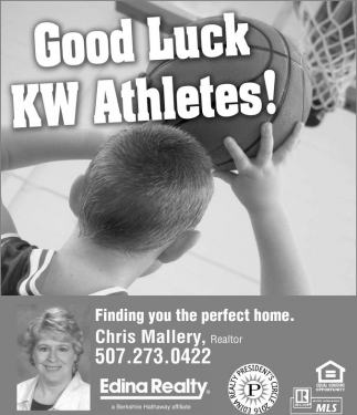 Good Luck KW Athletes!