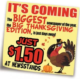 Big Thanksgiving Edition