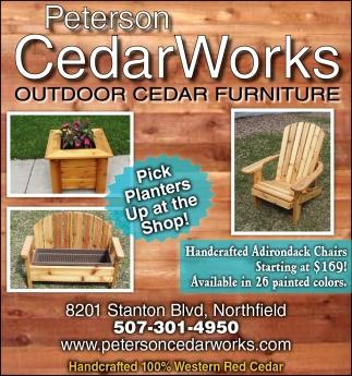 apr 20 2016 peterson cedar works home garden 2016 ads from northfield news