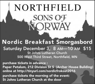 Nordic Breakfast Smorgasbord