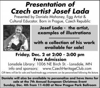 Czech artist Josef Lada