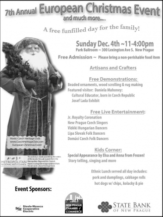 7th Annual European Christmas Event