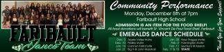Emeralds Dance Schedule