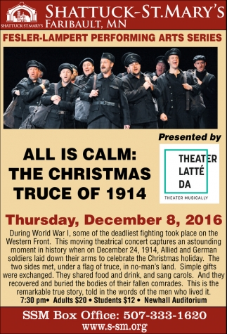 All is Calm: The Christmas Truce of 1914