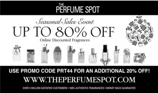 Up to 80% off, The Perfume Spot, Edison, NJ