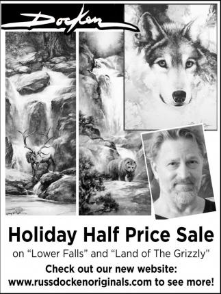 Holiday Half Price Sale