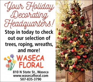 Your Holiday Decorating Headquarters