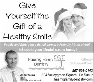 Give Yourself the Gift of a Healthy Smile