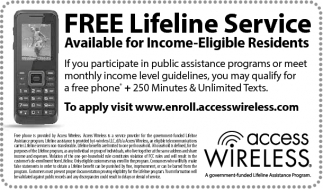 Ads For Access Wireless in Southern Minn
