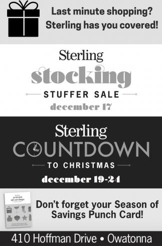 Stuffer Sale