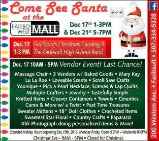 Come See Santa