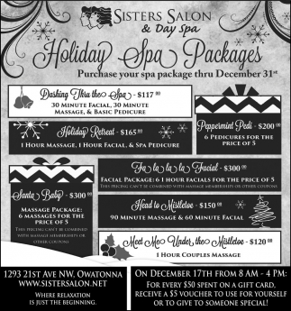 Holiday Spa Packages
