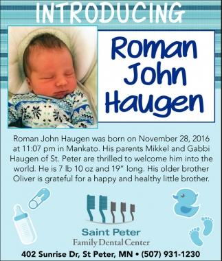 Roman John Haugen