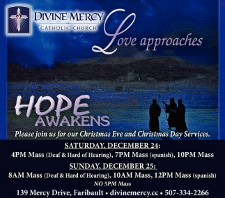 Christmas Eve and Christmas Day Services
