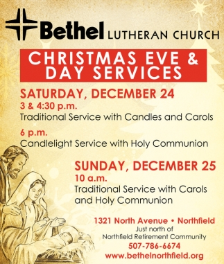 Christmas Eve & Day Services