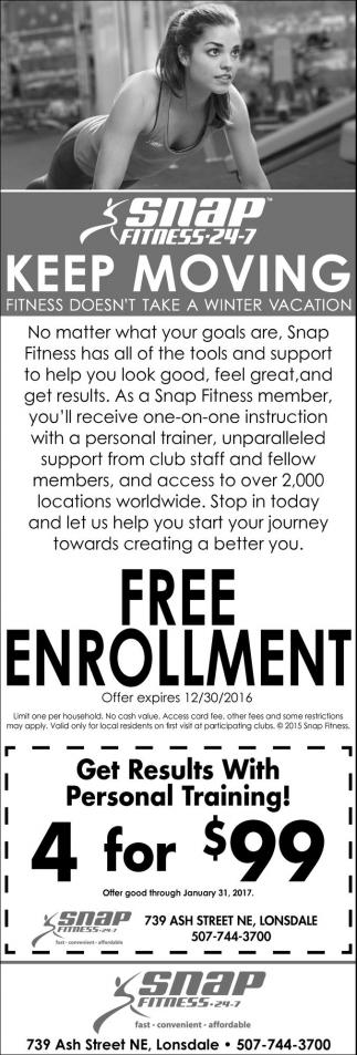 Free Enrollment