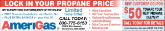 New Customer Coupon, Amerigas - Owatonna, Owatonna, MN