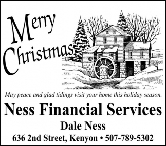 Merry Christmas, Ness Financial Services