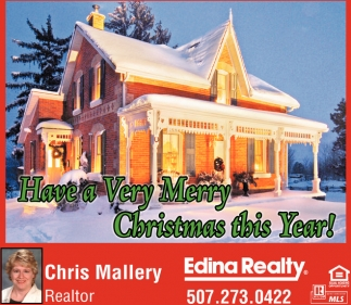Have a Very Marry Christmas this Year!, Edina Realty: Chris Mallery, Kenyon, MN