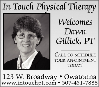 Welcomes Dawn Gillick