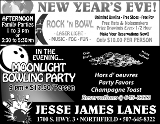 New Year's Eve!