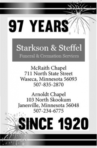 Starkson Funeral Home Waseca