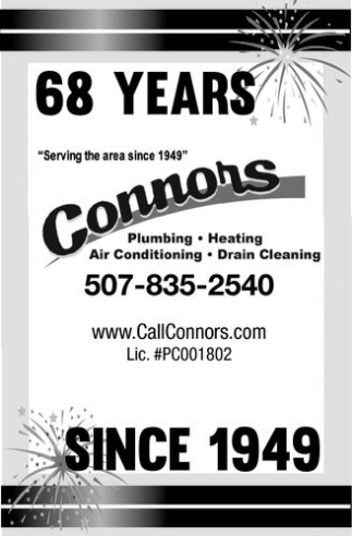 68 years since 1949, Connors, Waseca, MN