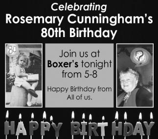 Rosemary Cunningham's