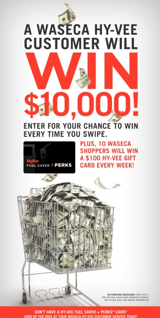 WIN $10,000!