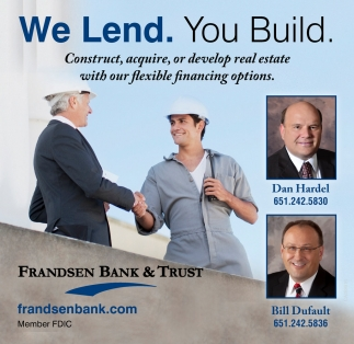 We Lend. You Build.