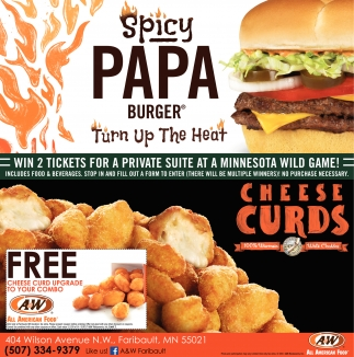 Spicy Papa Burger