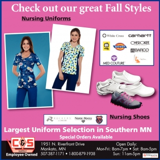 Largest Uniform Selection in Southern MN