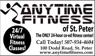 24/7 Virtual Fitness Classes!, Anytime Fitness, Owatonna, MN