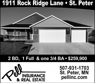 1911 Rock Ridge Lane - St. Peter