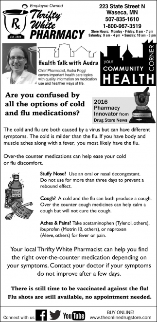 Are you confused by all the options of cold and flu medications?