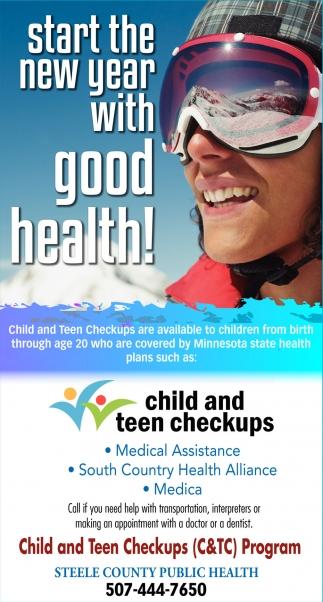 child and teen checkups