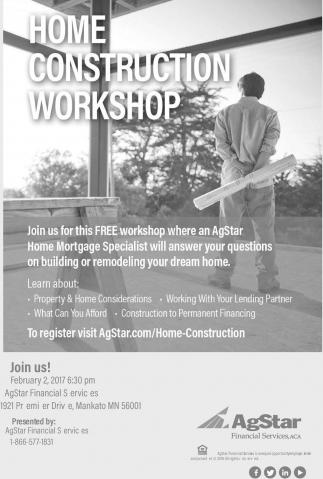 Home Construction Workshop
