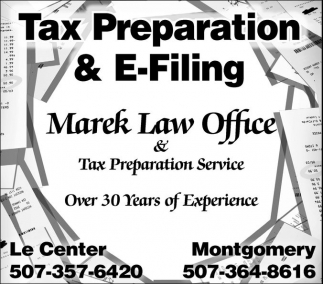 Tax Preparation & E-Filing