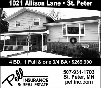 1021 Allison Lane - St. Peter
