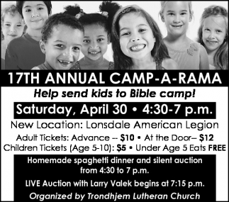17TH ANNUAL CAMP-A-RAMA
