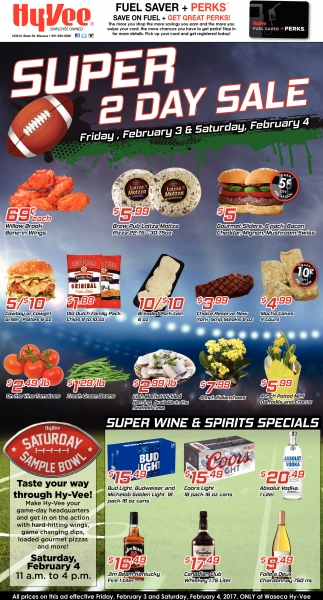 Super 2 Day Sale