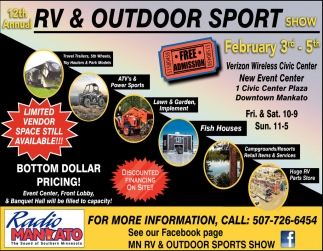 12th Annual RV and Outdoor Sport Show