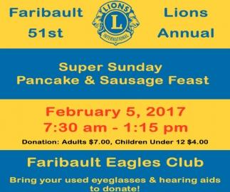 Faribault Lions 51st Annual
