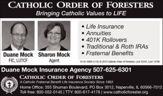 Bringing Catholic Values to LIFE