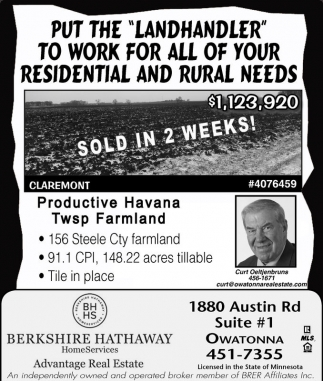 Productive Havana Twsp Farmland