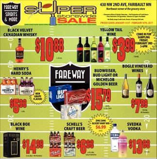 Super Storiwide Sale