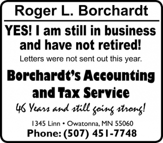 Accounting and Tax Service